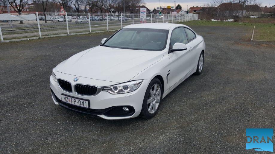 BMW serija 4 Coupe 420d Sport Line, 18″ alu, navigacija, HUD, pdc x2