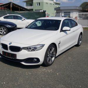 BMW serija 4 Coupe 420d Sport Line, 18″ alu, navi, lizing, samo 60tkm!