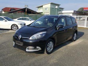 Renault Grand Scenic 1,5 dCi, 12/2013, alu 16″, keyless, pdc, navi